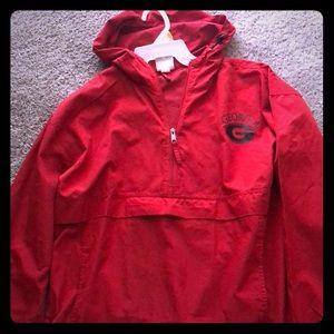Georgia windbreaker/rain jacket